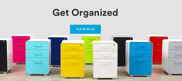 Poppin File Cabinets