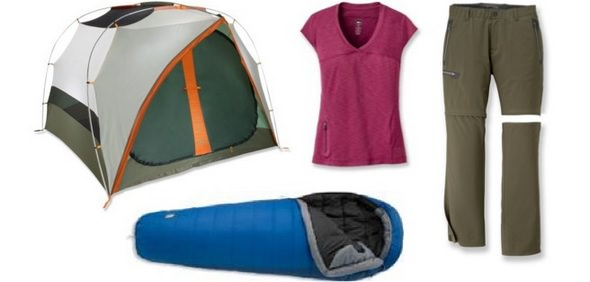 REI Camping Gear and Apparel