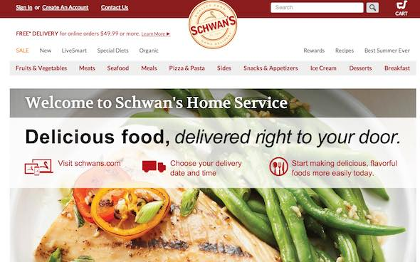 Schwans Website