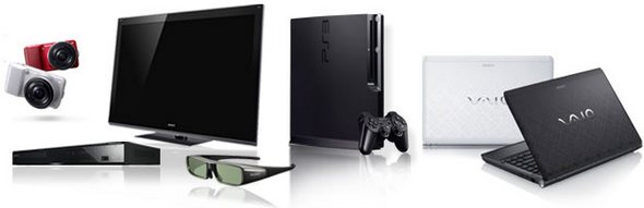 Sony Range of Products