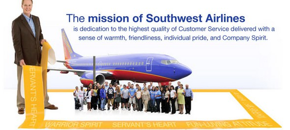 Southwest Airlines Mission