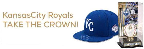 Sports Memorabilia MLB Kansas City Royals