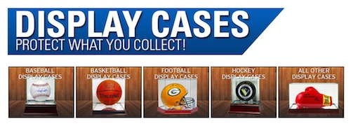 Steiner Sports Display Cases