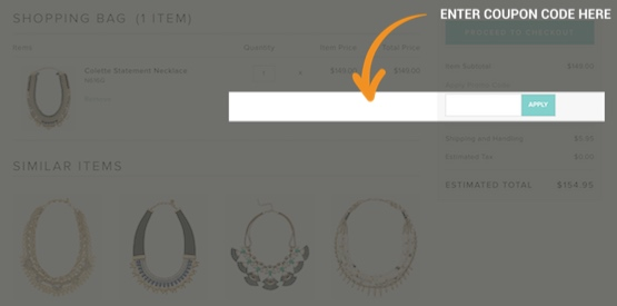 Stella And Dot Coupon Redemption