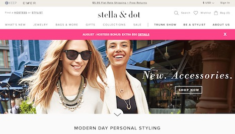 Stella And Dot Website
