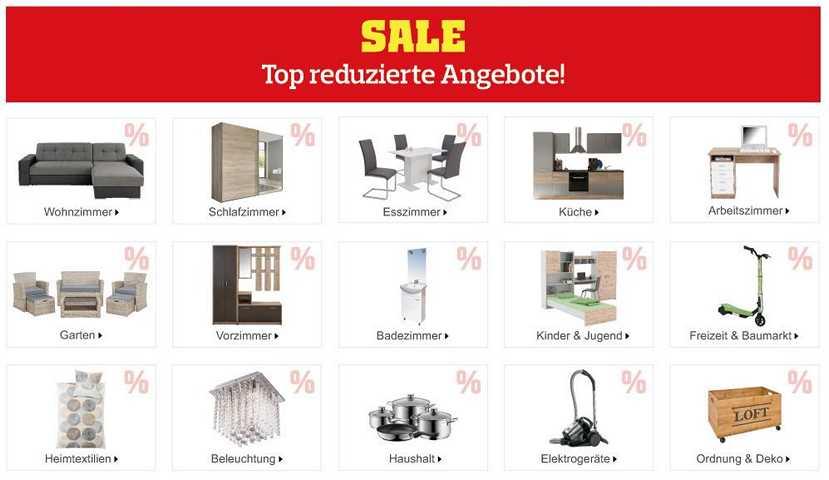 Möbelix Gutschein Sale