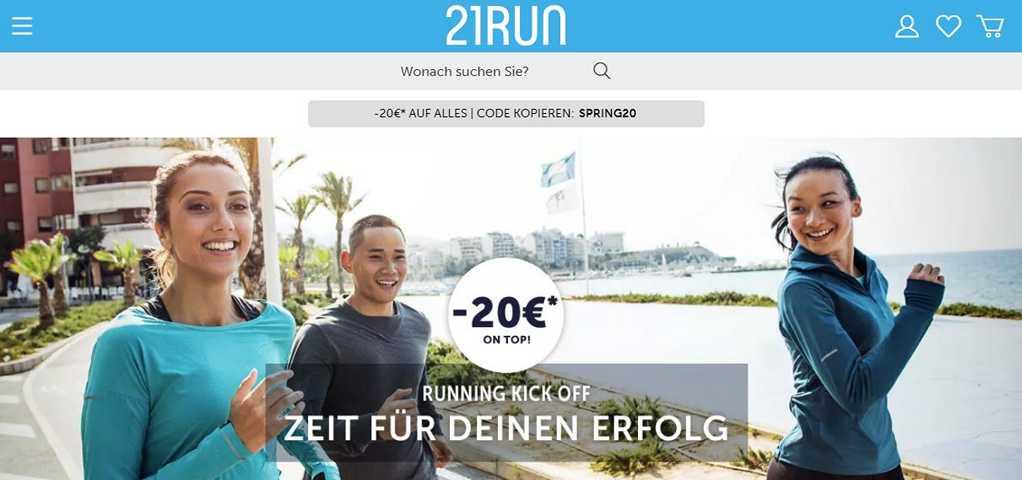 21Run Gutschein