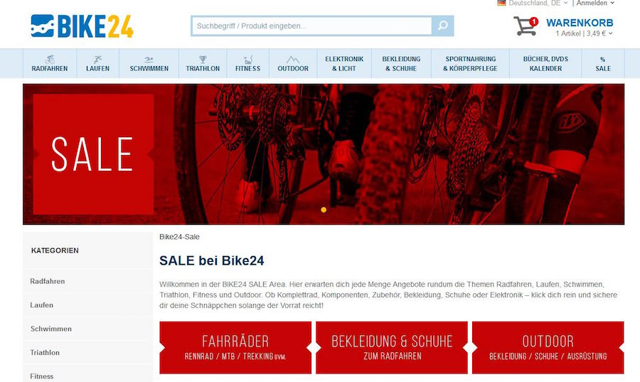 Bike24 Sale