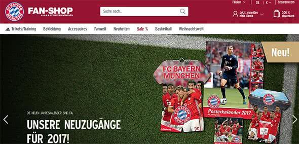 FC Bayern Sale Angebote