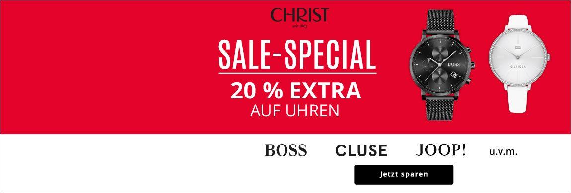 20% Rabatt auf Uhren im Sale