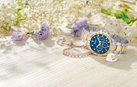 为情人节的选定珠宝,手表和钻石15%的折扣