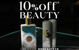 10% off Beauty Orders