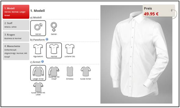 Tailor Store Design