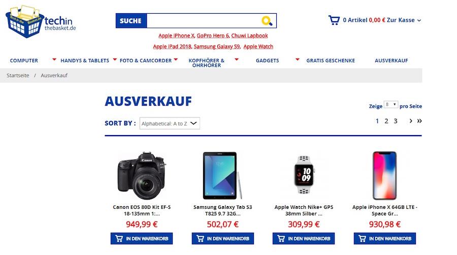 Techinthebasket Deals