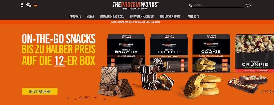 The Protein Works Shop