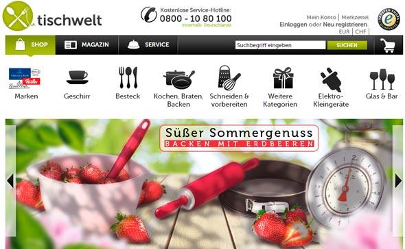 Tischwelt Screenshot
