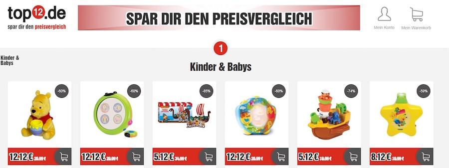 top12.de Shop Angebote