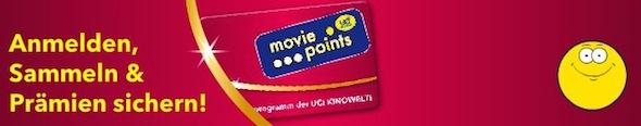 UCI Kinowelt movie points