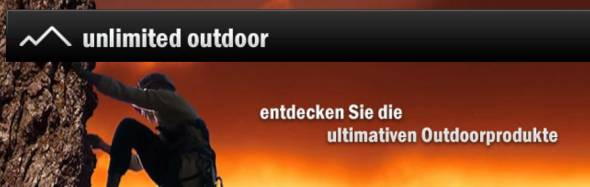 Unlimited Outdoor Produkte