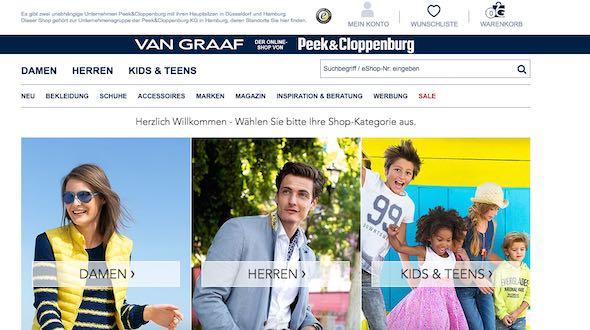 Van Graaf Webseite