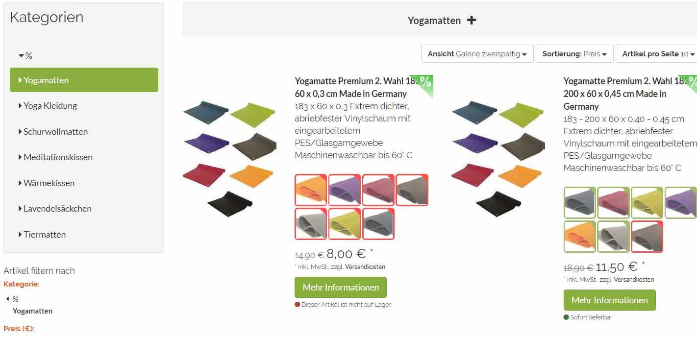 yogabox sale store
