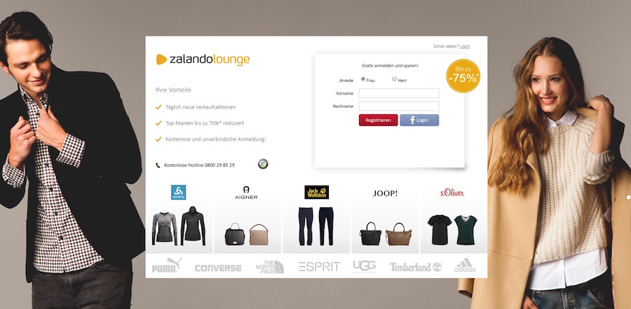 ZalandoLounge AT Sale