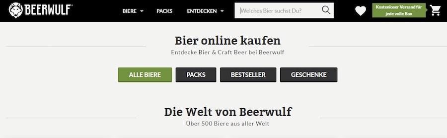 Beerwulf Shop
