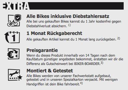 Biker Boarder Service
