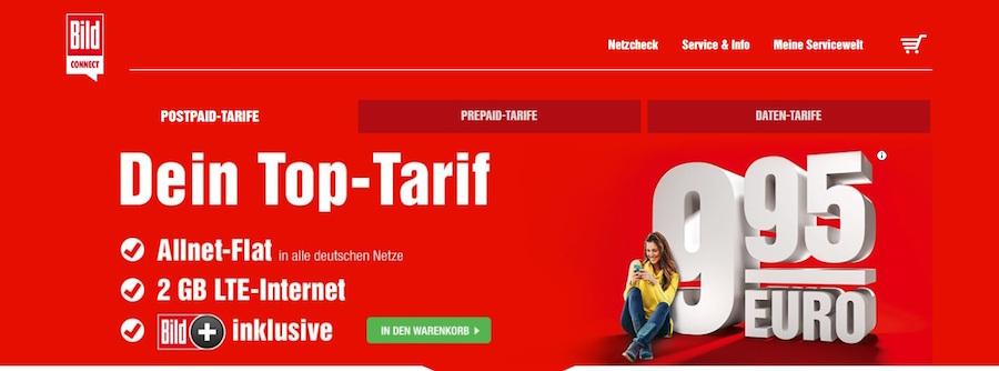 Bildconnect Tarife
