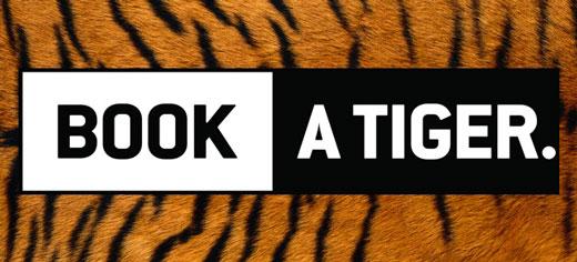 Book a Tiger Banner
