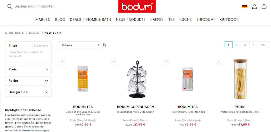 Bodum Shop