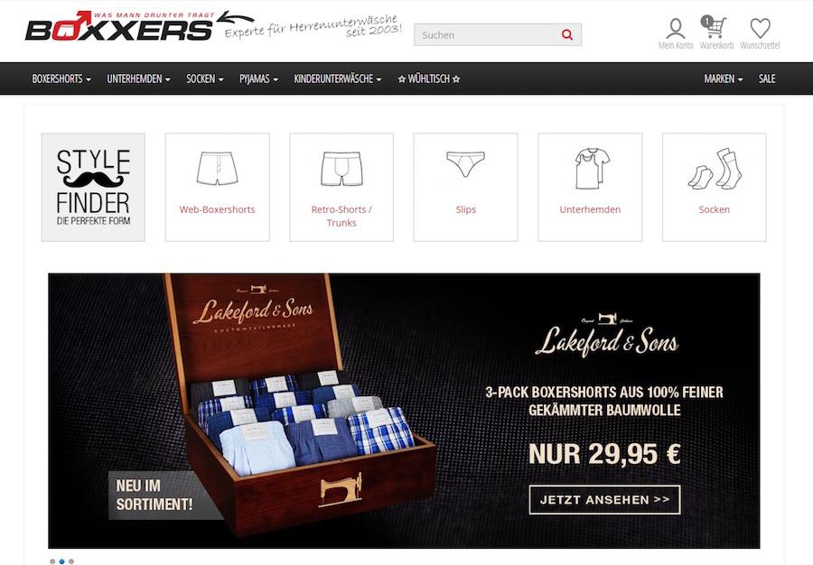 Boxxers Shop