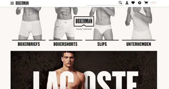 Boxerman Webseite