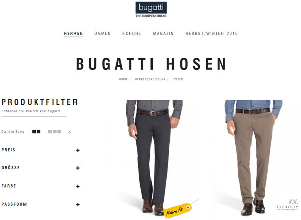 Bugatti Screenshot