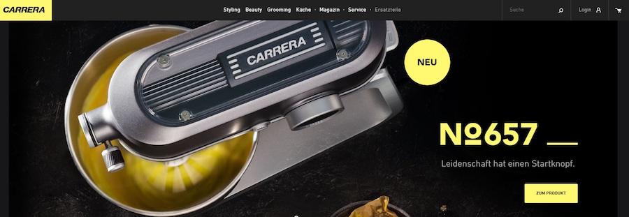 Carrera Shop