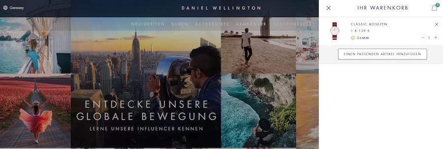 Daniel Wellington Gutschein