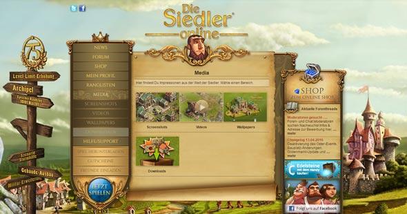 Die Siedler Screenshot