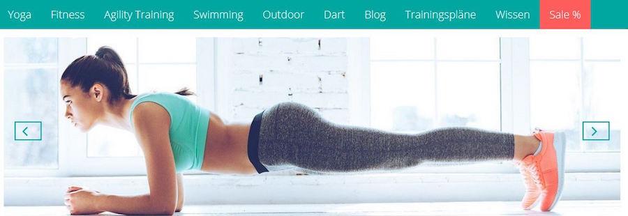 DoYourSports Homepage Gutschein