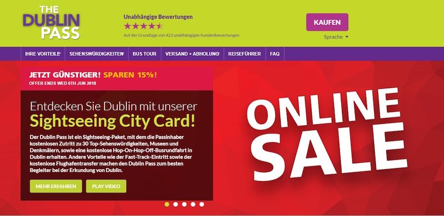 Dublin Pass Shop