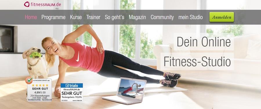Fitnessraum.de Shop Angebote