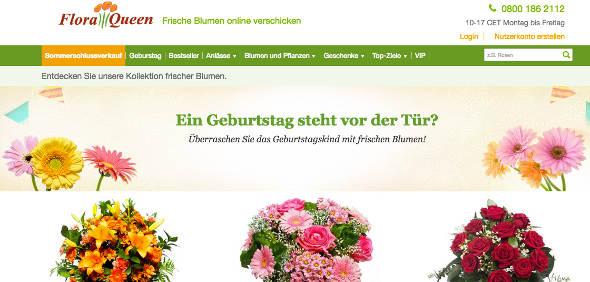 FloraQueen Online Shop