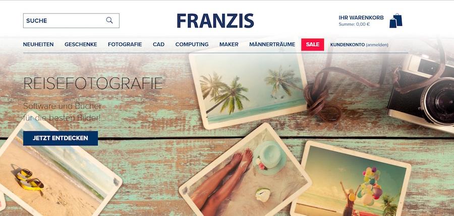 Franzis Verlag Shop