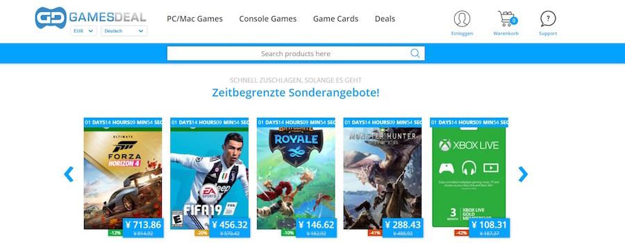 Gamesdeal Deal