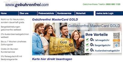 gebuhrenfrei.com Webseite