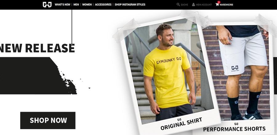 Gymjunky Online Shop