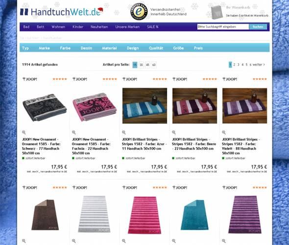 Handtuchwelt Shop