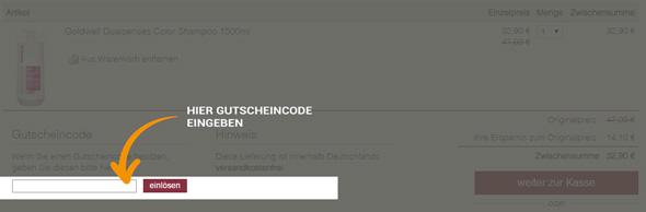 hair-shop.com Gutschein einlösen