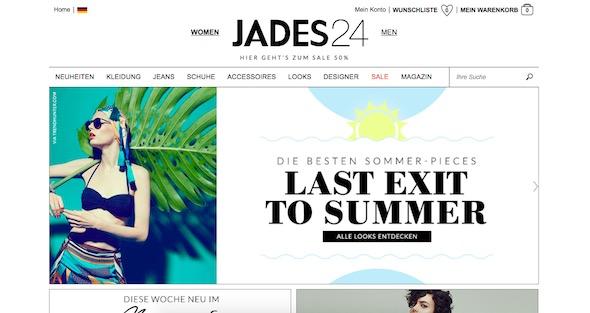Jades24 Webseite