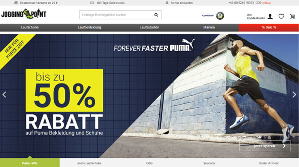 Jogging Point Screenshot
