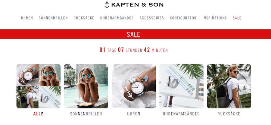 Kapten & Son Sale